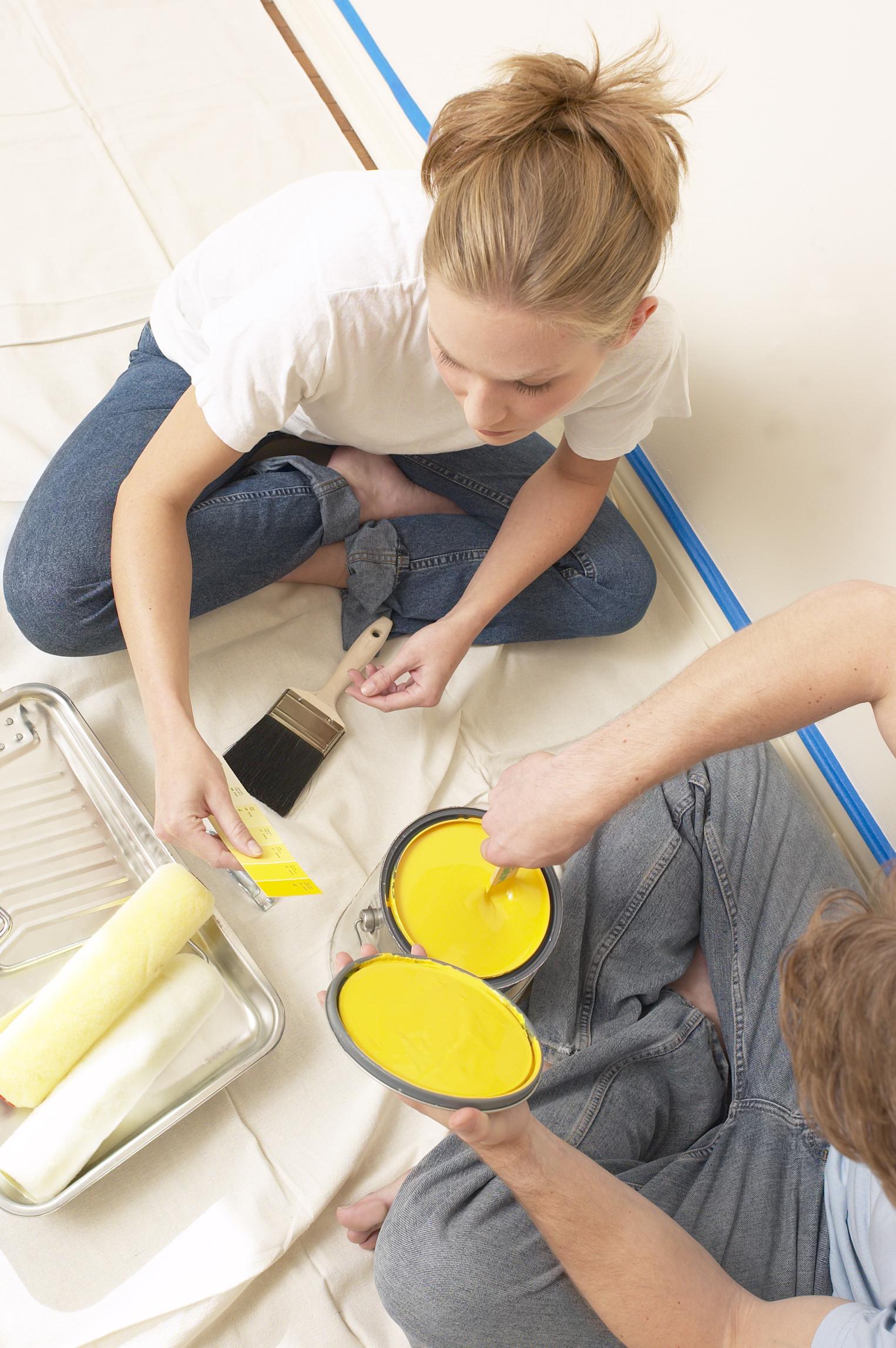 Pintar pared con humedad plantillas decorativas para - Pintar paredes con humedad ...
