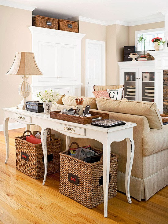 Tips colorexpression for Living room sofa table decorating