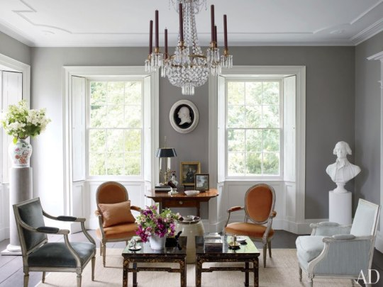 Foto: Architectural Digest Color Lanco: Abbey Lane
